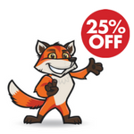 25% OFF all HandiFox products starting November 24th!