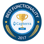 best functionality award by capterra 2017 HandiFox