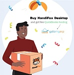 March Only Special Offer: Buy HandiFox Desktop and Get Free QuickBooks Hosting