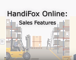HandiFox Online: Sales Features
