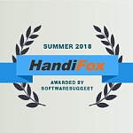 "Handifox receives ""Rising Star"" and ""Budget Friendly"" awards by SoftwareSuggest"