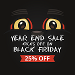 Year End Sale Kicks off on Black Friday: 25% off all HandiFox Products and Services